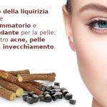 Dalla liquirizia estratto ingrediente per la cura della pelle