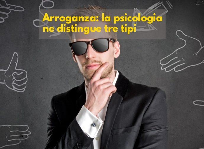 Arroganza psicologia