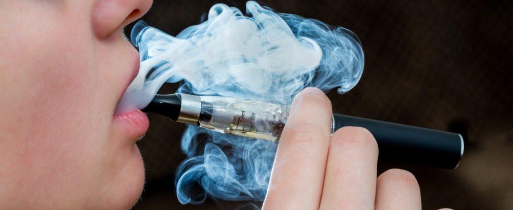 Sigarette elettroniche THC rischio