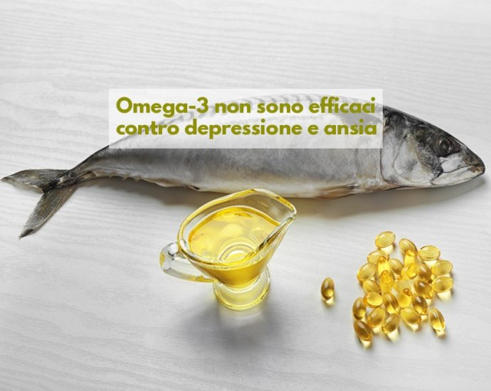 OmeOmega-3 non danno benefici depressione