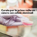 Cellule staminali hanno curato il primo tumore