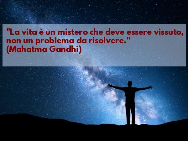 Aforisma di Gandhi sulla Vita