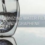 Grafene per purificare l'acqua potabile