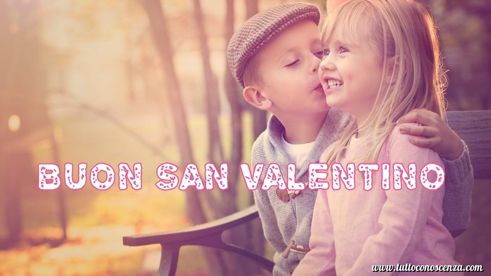 Buon San Valentino Bambini