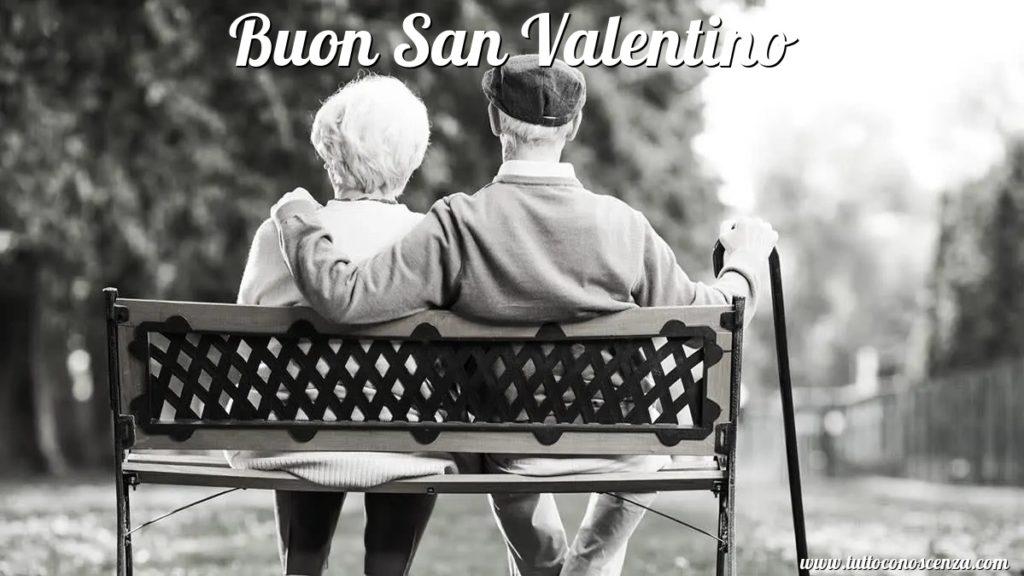 Buon San Valentino Coppia Anziana