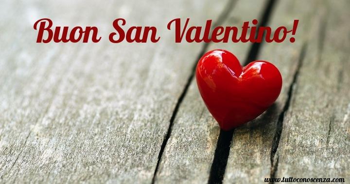 Buon San Valentino Cuore