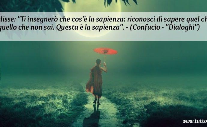 Frase Confucio Sapienza