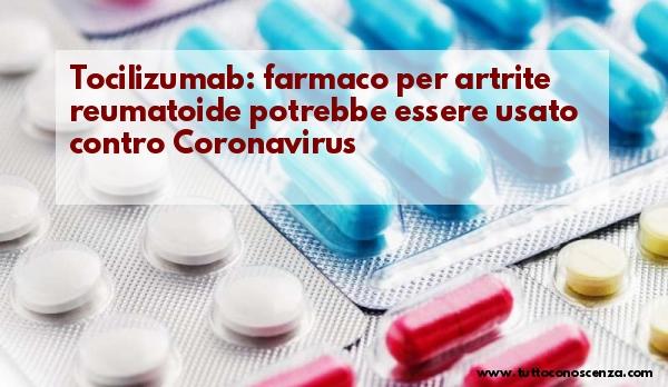 Farmaco per artrite reumatoide contro Coronavirus