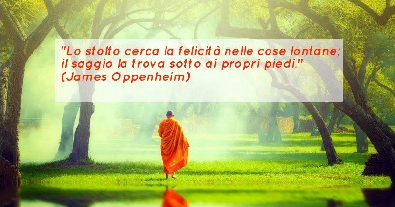 Frase sulla felicità Oppenheim