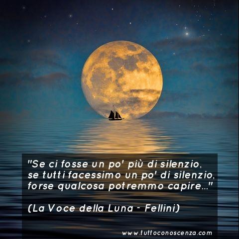 Frase film di Fellini