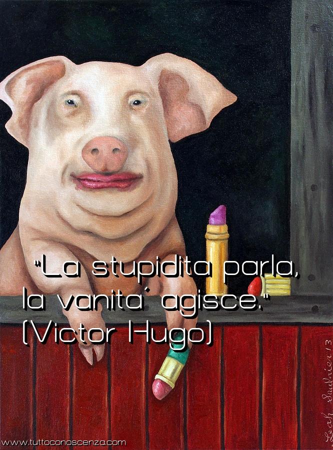 Frase stupidità e vanità