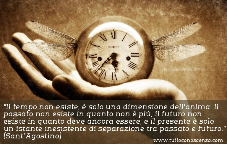 Frase sul tempo Sant'Agostino