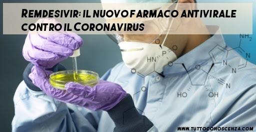 Remdesivir farmaco contro Coronavirus