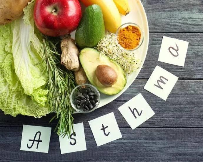 Alimentazione per l'asma