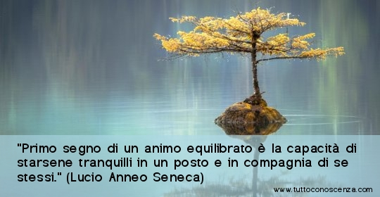 Frase equilibrio Seneca