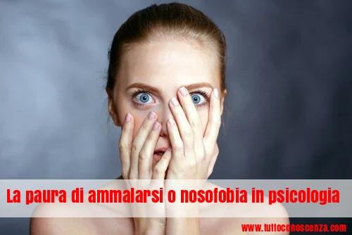 Paura delle malattie nosofobia