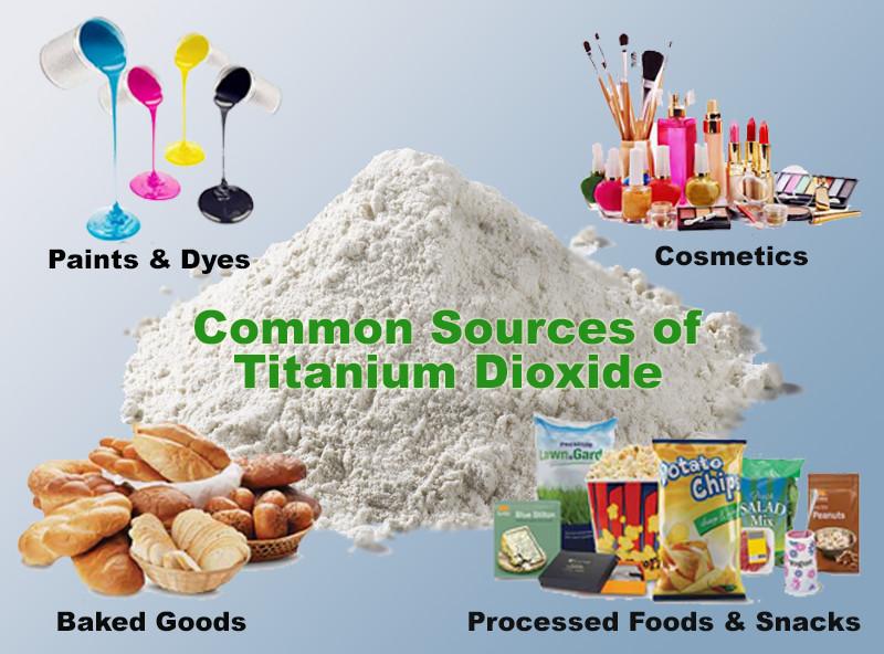 Biossido titanio additivo fa male
