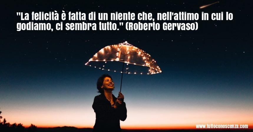 Frase sulla felicità di Roberto Gervaso
