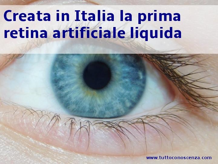 Retina artificiale liquida 2020