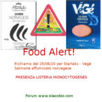 Allerta alimentare oggi: Salmone norvegese Starlaks con Listeria