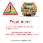 Allerta alimentare oggi: Zuppa con Farro diversi marchi
