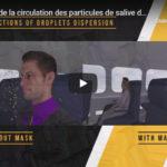 Video simulazione diffusione virus su un aereo