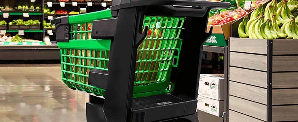 Amazon Dash Cart carrello spesa