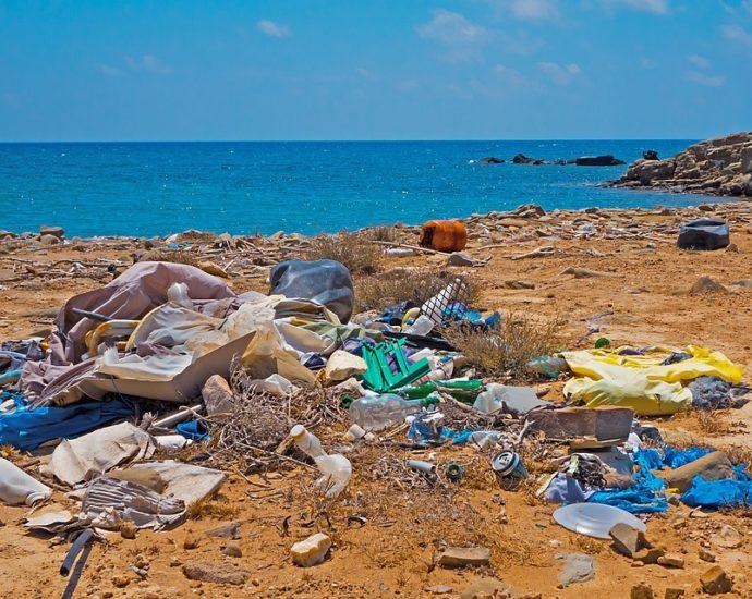 Beach litter 2020 Legambiente