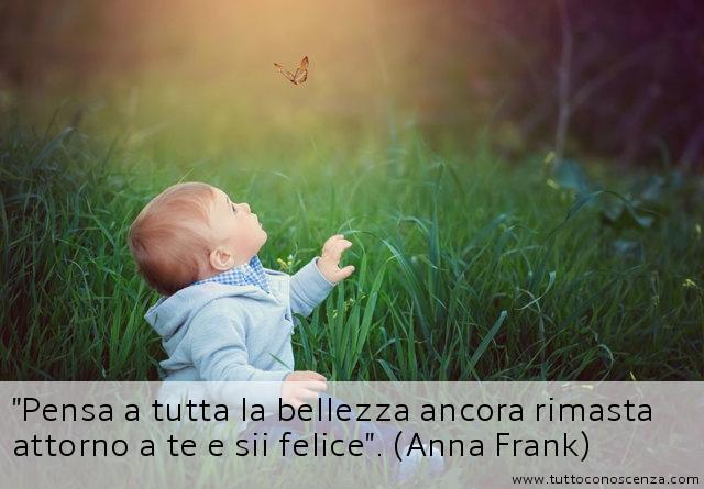 Frase di Anna Frank sulla bellezza