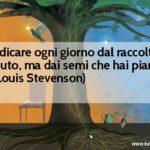 Frase del giorno di R.L. Stevenson