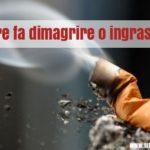 Fumare fa dimagrire? Uno studio lo smentisce