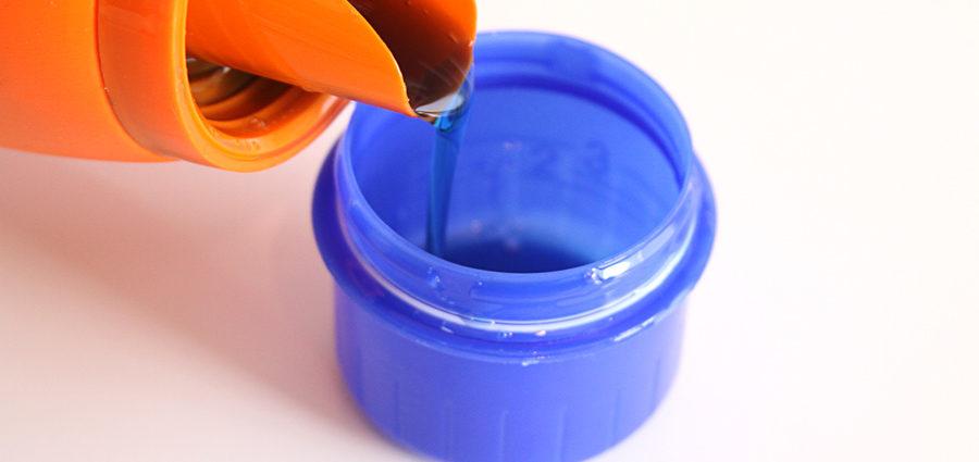 Plastica liquida nei detersivi