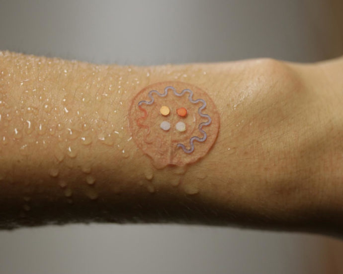 Sensore per il test sudore