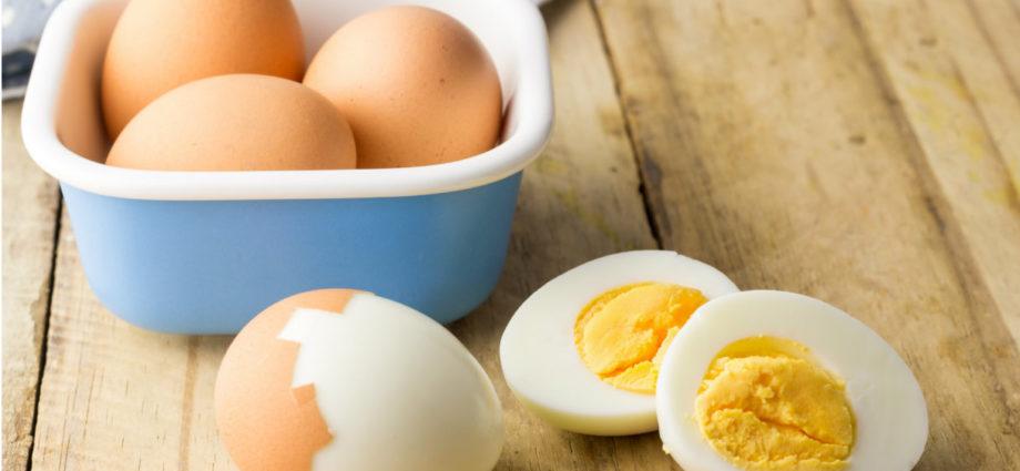 Uovo calorie valori nutrizionali