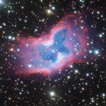 Farfalla cosmica fotografata dal telescopio dell'Eso