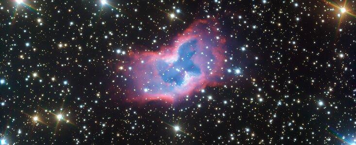 Farfalla cosmica 2020 Eso Cile