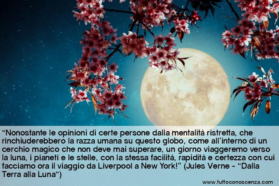Frasi Jules Verne viaggi verso la Luna