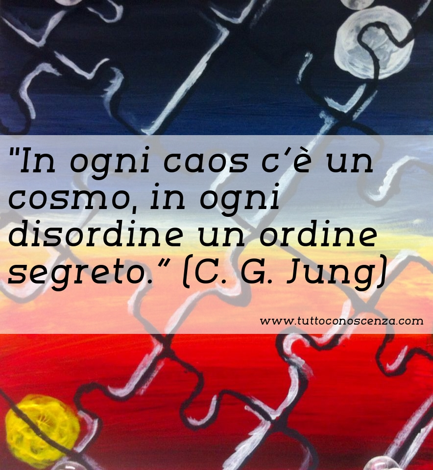 Frase di Jung caos ordine