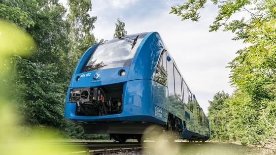 Treno a idrogeno Alstom Snam in Italia