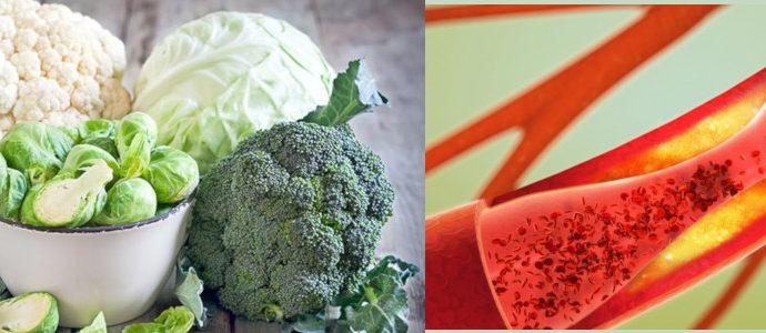Verdure crucifere riducono rischio malattie vascolari