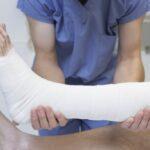 Bendaggio che accelera guarigione frattura