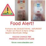 Allerta alimentare: richiamo per Fuchs Naturkost Muesli e Sesamo