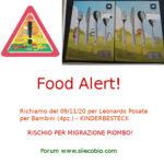 Allerta alimentare richiamo per Posate per bambini Leonardo