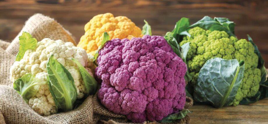 Cavolfiore calorie valori nutrizionali