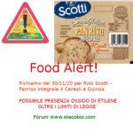 Allerta alimentare richiamo per Panriso Integrale 4 Cereali e Quinoa Riso Scotti