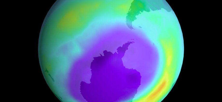 Buco dell'ozono Antartide chiuso