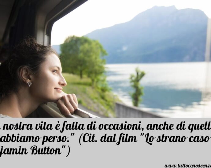 Frase dal film Benjamin Button