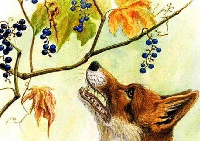 La volpe e l'uva significato favola
