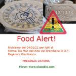 Allerta alimentare richiamo per Formai De Mut dell'Alta Val Brembana
