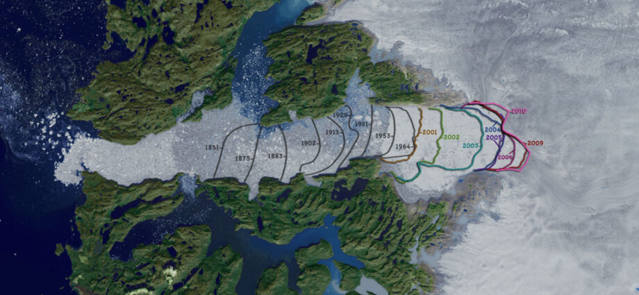 Cause scioglimento ghiacciai Groenlandia